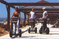 Segways in action